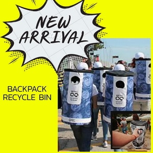 NEW Backpack recycle bin